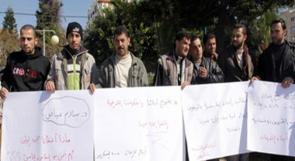اضراب عن الطعام بمكتب زكريا الأغا بغزة