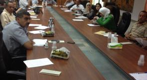 المركز الفلسطيني للعداله الانتقاليه يعقد جلسة حوار