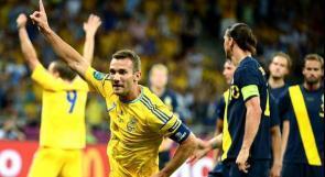 بالصور..اوكرانيا تهزم السويد.. والديوك تتعادل مع الاسود الثلاثة