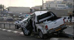 ام الفحم : مصرع مواطن واصابة اخر في حادث سير