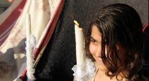 """بالصور ... """"عمر وهبة"""".. زواج في مركز إيواء"""