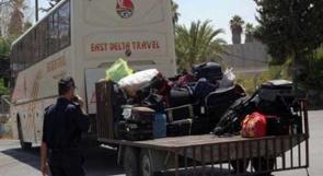 تنقل 641 شخصا بين مصر والقطاع وادخال 450 طنا من المساعدات الطبية