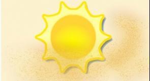 ارتفاع في درجة الحرارة بخمس درجات عن معدلها السنوي