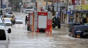 الدفاع المدني لوطن : 290 حادثا منذ بداية المنخفض .. والأرصاد الجوية تزود وطن بنسب التساقطات المطرية ومعدلاتها السنوية