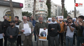 خلال اعتصام لطلبة بيرزيت.. مطالبات  للتحرك الفوري لإنقاذ حياة الأسرى المضربين عن الطعام