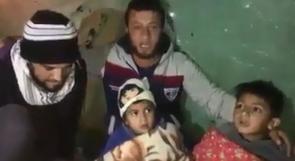 فيديو | محمد رضوان من رفح  .. حين ينام المواطن مع أولاده في الشارع رغم المطر والبرد، فأين المسؤولين؟