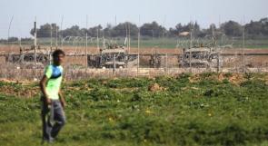 الاحتلال يتأهب في محيط غزة