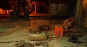 سلفيت: الاحتلال يستولي على معدات ورشة حدادة في كفر الديك