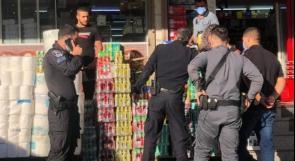 شرطة الاحتلال تفرض غرامات بأكثر من 10 ملايين شيكل على محال في عرابة البطوف