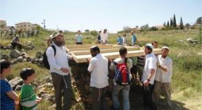مستوطنون يقتحمون قرية الولجة بحماية جيش الاحتلال