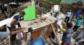 ارتفاع عدد القتلى زلزال إندونيسيا إلى أكثر من 400