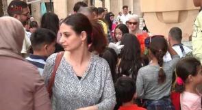 بالفيديو ... اجواء عائلية مميزة في عيد الفطر بمدينة روابي