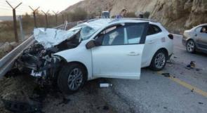 إصابة فتاتيْن من الداخل بحادث سير في جنين
