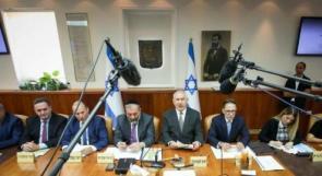 """""""الكابينت"""" يجتمع الخميس لمناقشة """"التهدئة"""" مع غزة"""