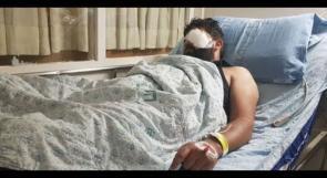 عائلة الصحفي معاذ عمارنة لوطن: معاذ دخل غرفة العمليات لاستئصال عينه اليسرى