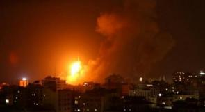 محدث 2 | عدة إصابات خطيرة بقصف عنيف لطيران الاحتلال لعدة مناطق في قطاع غزة