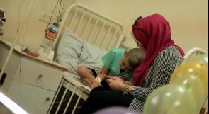 """خاص لـ""""وطن"""" بالفيديو .. غزة: """"شروق وصابرين"""" .. تعوضان الأطفال مرضى السرطان عن الدروس المتأخرة"""