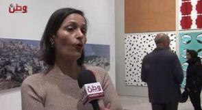 """افتتاح معرض """"اقتراب الافاق"""" في المتحف الفلسطيني"""