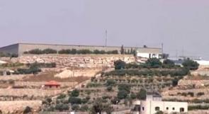 """خاص لـ""""وطن"""":بالفيديو...خط """"دير شعار الجديد"""" يخفف أزمة المياه في الخليل"""
