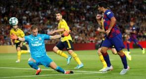 برشلونة يهزم أرسنال بهدف قاتل وميسي يوجه رسالة لجماهيره