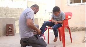 والد طفلين مصابين بضمور العضلات من جنين يناشد عبر وطن لعلاجهما