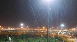 تأجيل تفويج حجاج فلسطين الى جبل عرفات بسبب الأمطار