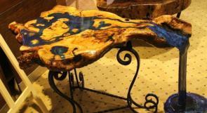 """افتتاح معرض """"أرضي"""" للمنحوتات الخشبية في متحف درويش"""