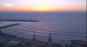 بحر غزة.. متنفس يخنق المصطافين