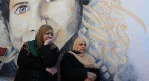 اصحاب البيوت المدمرة في غزة يحتجون امام الاونروا