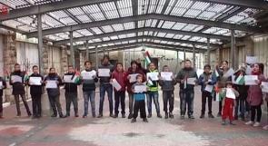 القدس عاصمة فلسطين .. صرخات اطفال الخليل في وجه المستوطنين