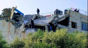 فيديو| قوات الاحتلال تفجر منزل الشهيد عمر ابو ليلى