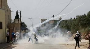 إصابات بالاختناق جراء قمع الاحتلال مسيرة كفر قدوم