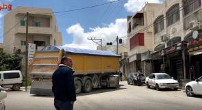 أهالي سعير يناشدون عبر وطن: ألف شاحنة تمر من قريتنا يوميا وأطفالنا في خطر