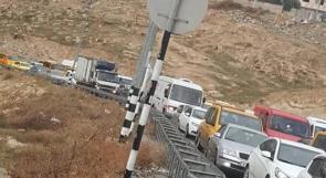 """الاحتلال يغلق حاجز """"الكونتينر"""" شمال بيت لحم"""