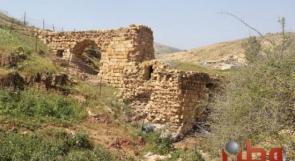 صور.. طاحونة وادي المالح شاهدة على تاريخ الأغوار