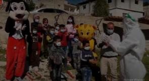 في دورا جنوب الخليل.. ألعاب وفعاليات ترفيهية للأطفال المصابين بكورونا