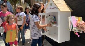 """""""المكتبة الحرة"""" في نابلس.. إلى حيث اذهب هناك كتاب"""