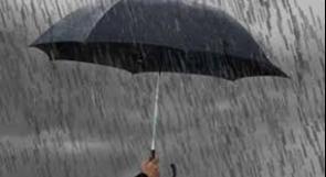 الحالة الجوية غير مستقرة وأمطار غزيرة حتى مساء الجمعة