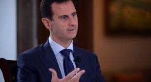 ماذا قال الرئيس السُوري