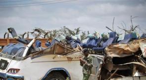 مصرع 40 شخصا على الأقل بحادث انقلاب حافلة غرب كينيا