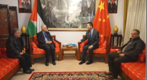 حزب الشعب يقوم بزيارة تضامنية لسفارة جمهوريه الصين الشعبيه لدى فلسطين