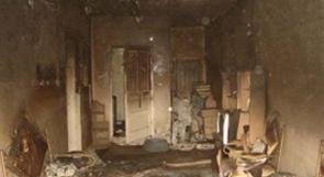 مصرع 5 أطفال أشقاء وإصابة 4 آخرين اثر احتراق منزلهم بطولكرم