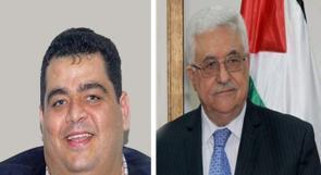 هنية الابن يلتقي الرئيس عباس في قطر
