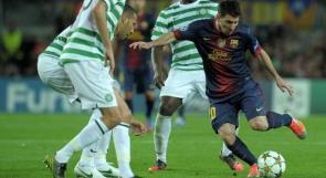 سيلتيك يكتب الهزيمة الأولى لبرشلونة في دوري الأبطال