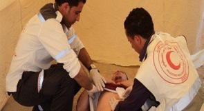 تحرير طفل علقت يده داخل عجانة بمطعم في رام الله