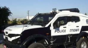 إحراق سيارة للشرطة الإسرائيلية في القدس
