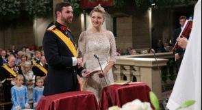 بالصور.. حفل زفاف أمير لوكسمبورج