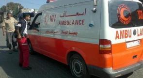 وفاة طفل من نابلس دهسته مركبة