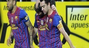 برشلونة يتغلب على إشبيلية بهدفين نظيفين