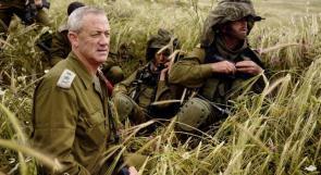 غانتس لا يستبعد عملية هجومية أخرى ضد غزة